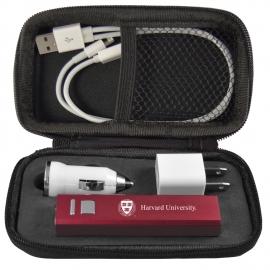 Harvard Power Bank Gift Set