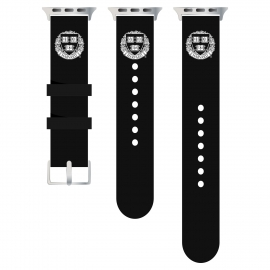 Harvard Silicon Apple Watch Strap