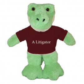 Harvard Bean Buddy Alligator