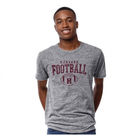 Harvard Men's Vintage Football Tee