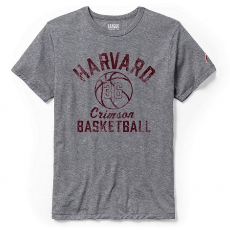Harvard Men's Vintage Basketball Tee