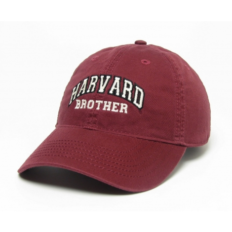Harvard Brother Burgundy Unstructured Hat