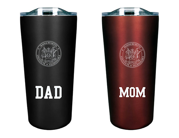 MIT Mom and Dad  Tumbler Gift Set