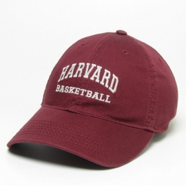 Harvard Basketball Twill Hat