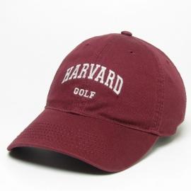 Harvard Golf Washed Twill Hat