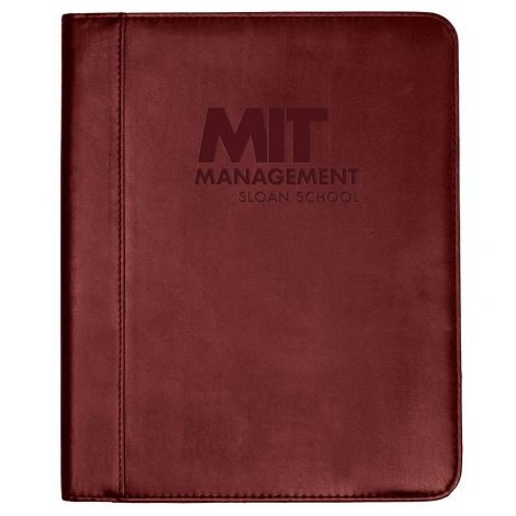 Sloan School of Management Deluxe Padfolio