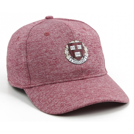 Harvard Performance Sonic Weld Logo Structured Heathered Hat