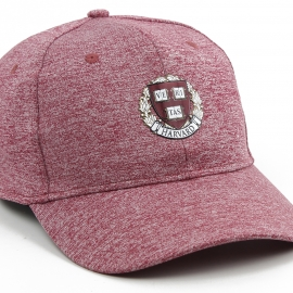 Harvard Structured Heathered Hat