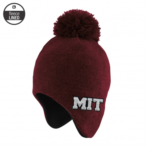 MIT Toddler Winter Knit With Pom