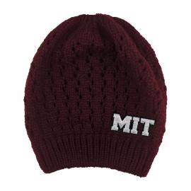 MIT Honey Bun Winter Knit Beanie