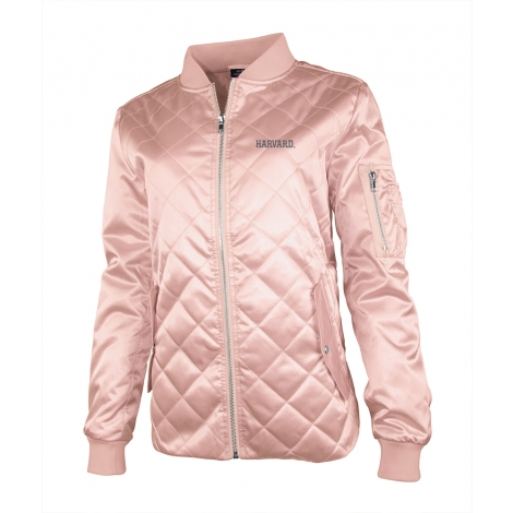 Women's Harvard Quilted Boston Flight Jacket