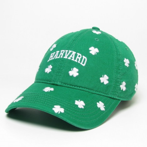 Harvard Shamrock Twill Hat