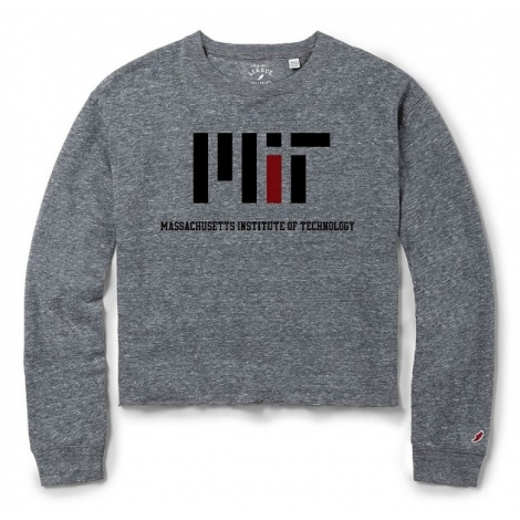 Women's MIT Intramural Long Sleeve Crop
