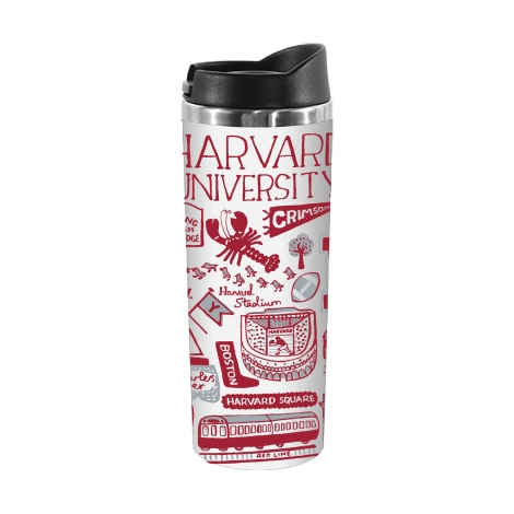 Julia Gash Stainless Steel Harvard Tumbler