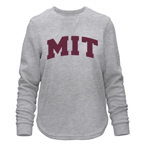 MIT Women's Felt Applique Comfy Crew