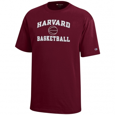 Youth Harvard Basketball Tee