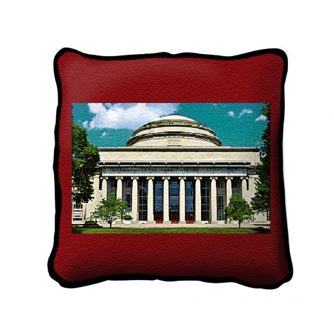 MIT Tapestry Throw Pillow