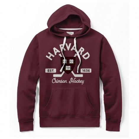 Harvard Stadium Hockey Hooded Sweatshirt