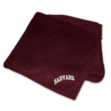 Harvard Polar Fleece Blanket