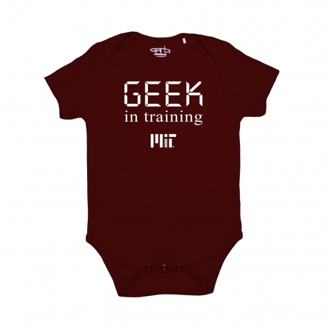MIT Infant Geek In Training Onsie