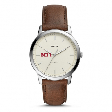 Men's MIT Minimalist Fossil Watch