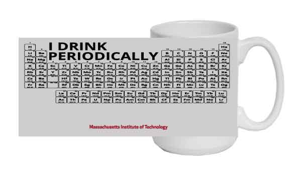 I Drink Periodically MIT Mug