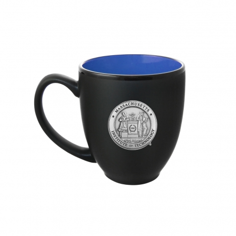 MIT Ceramic Mug with Pewter Seal