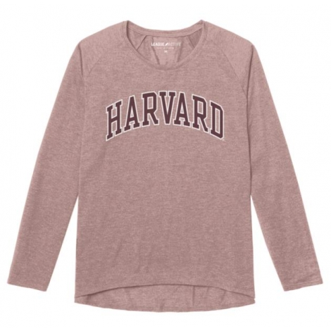 Harvard Women's Long Sleeve Tri-Blend Tee