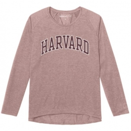 Women's Harvard Long Sleeve Tri-blend Tee