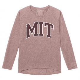 Women's MIT Long Sleeve Tri-blend Tee