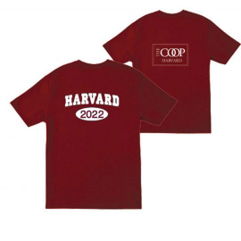 Harvard Class of 2022 Maroon T Shirt