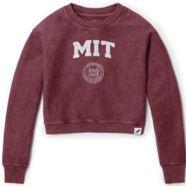 MIT Women's Timber Crop Crew Neck Sweater