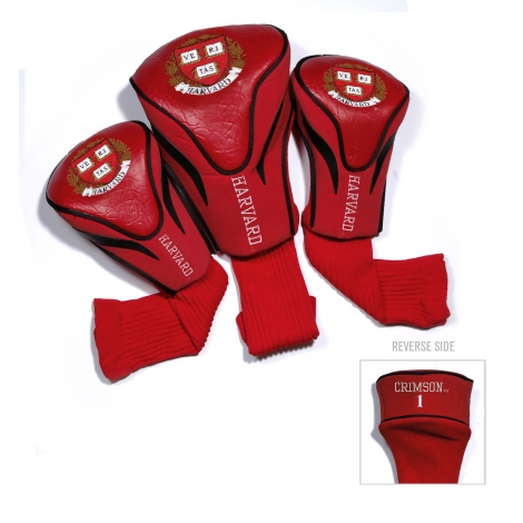 Harvard Contour Set of 3 Golf Club Headcovers
