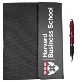 Harvard Business School Pad Folio and Pen Set