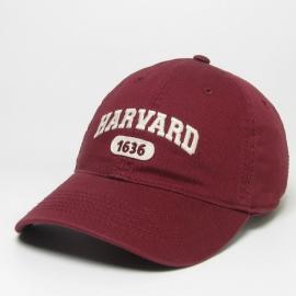 Harvard 1636 Twill Hat