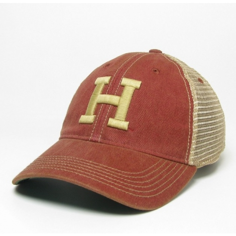 Harvard Old Favorite Trucker Hat with Varsity H