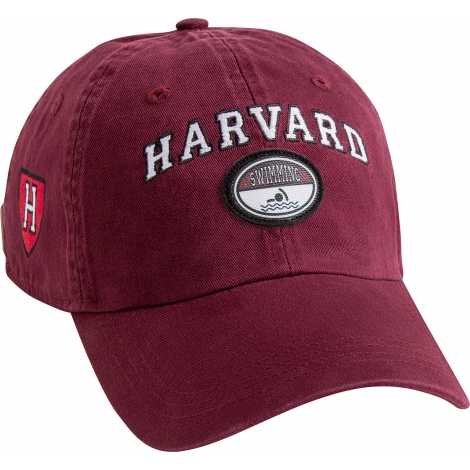 Harvard Maroon Swimming Hat