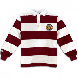 Harvard Barbarian Authentic Striped Rugby Shirt