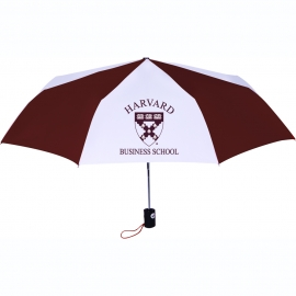 Harvard Business School Folding Umbrella