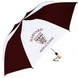 Harvard Medical School Folding Golf Umbrella