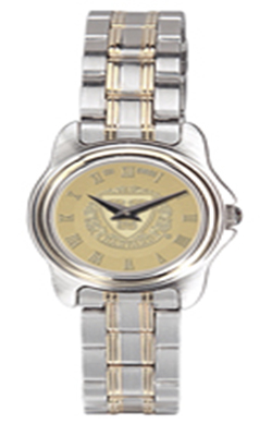 Harvard Ladies Two-Tone Rolled Link Bracelet Wristwatch