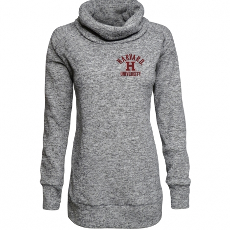 Women's Harvard Microfleece Funnel Neck Tunic