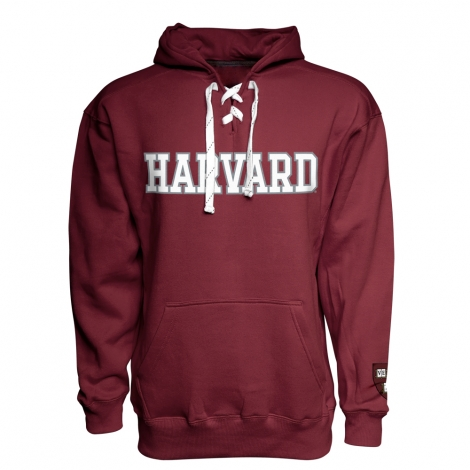Harvard Laced Hockey Hood