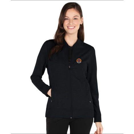 Harvard Women's Charles River French Terry Full Zip Adventure Jacket