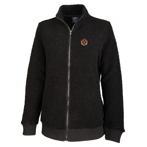 Harvard Women's Sherpa Full Zip Sweater