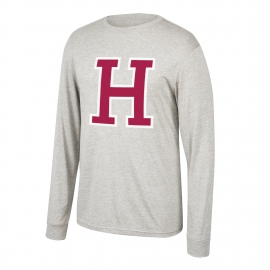 Harvard Heritage Tri-blend Long Sleeve Tee Shirt