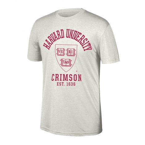 Harvard Heritage Tri-blend Short Sleeve Tee