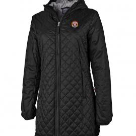 Harvard Women's Lithium PrimaLoft Hooded Quilted Jacket