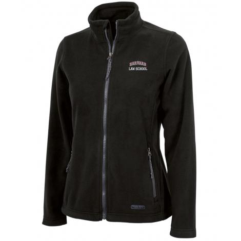 Harvard Law School Women's Charles River Fleece Full Zip Jacket