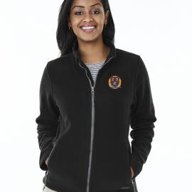 Harvard Women's Fleece Full Zip Jacket